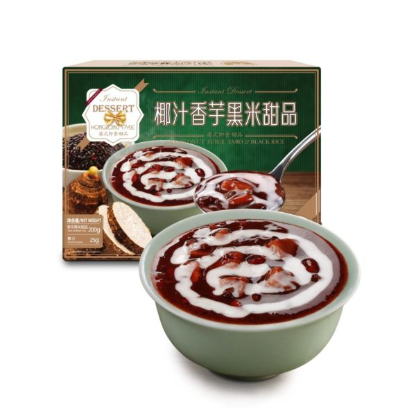宝之素 椰汁香芋黑米甜品 225g