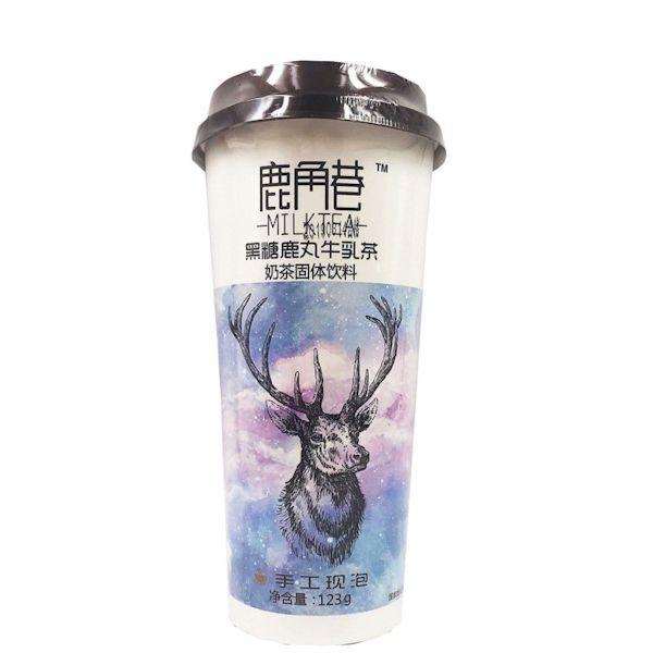 鹿角巷奶茶 - 黑糖鹿丸牛乳茶 123g
