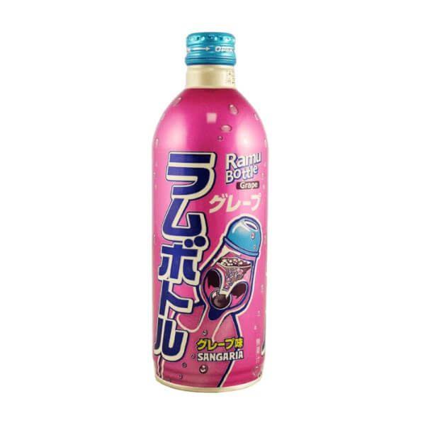 Sangaria 日式苏打汽水 (葡萄) 500ml
