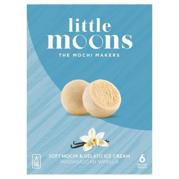 Little Moons Vanilla Mochi Ice Cream 6pcs