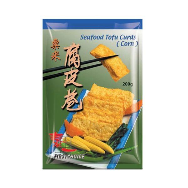 Sweetcorn Beancurd Roll