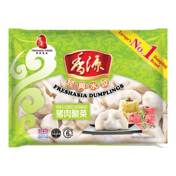 香源猪肉酸菜水饺 400g