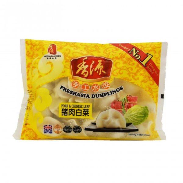 Fresh Asia Pork & Chinese Leaves Dumplings