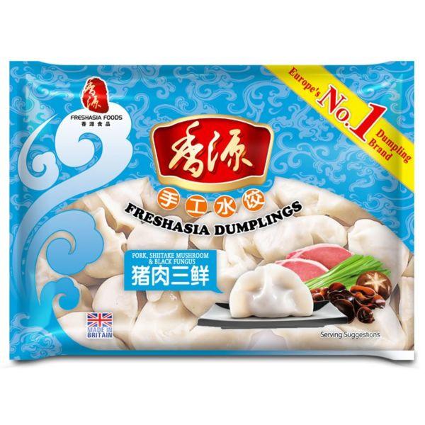 Fresh Asia Three Fresh Delicacies Dumplings