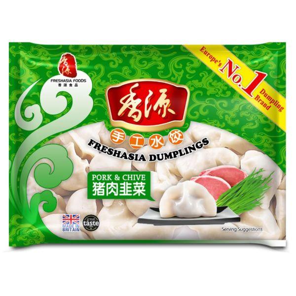 Fresh Asia Pork & Chives Dumplings