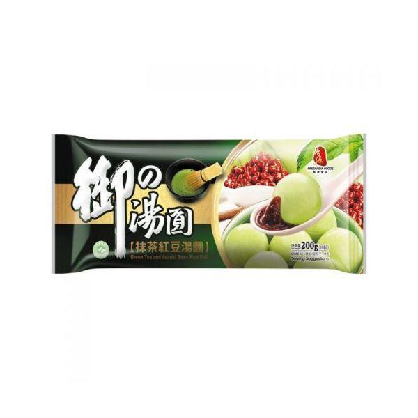 Fresh Asia Green Tea & Adzuki Bean Rice Ball