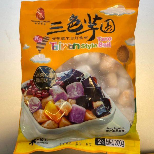 香源台湾风味三色芋圆 200g