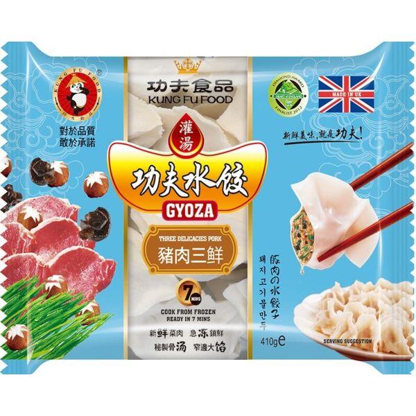 功夫水饺-猪肉三鲜 410g