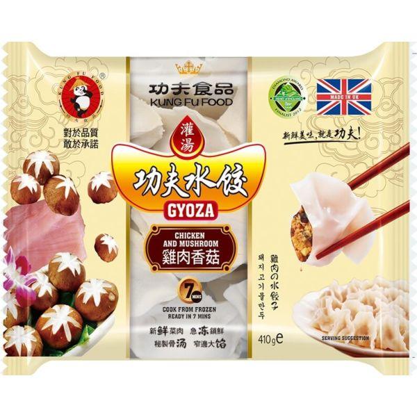 功夫水餃 - 雞肉香菇 410g