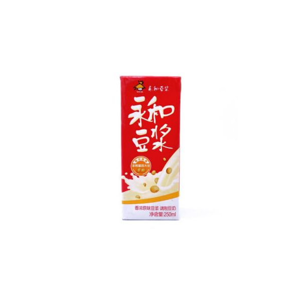 永和豆浆香浓原味豆浆 250ml