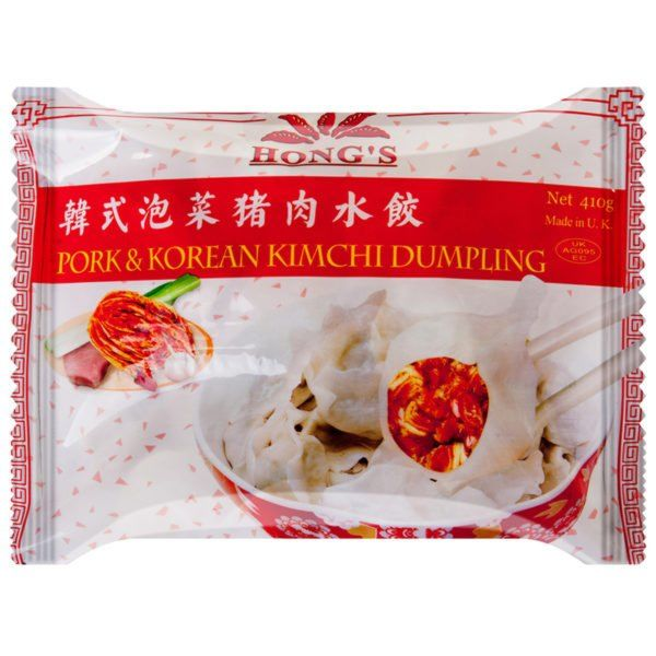 Hongs Pork & Korean Kimchi Dumplings
