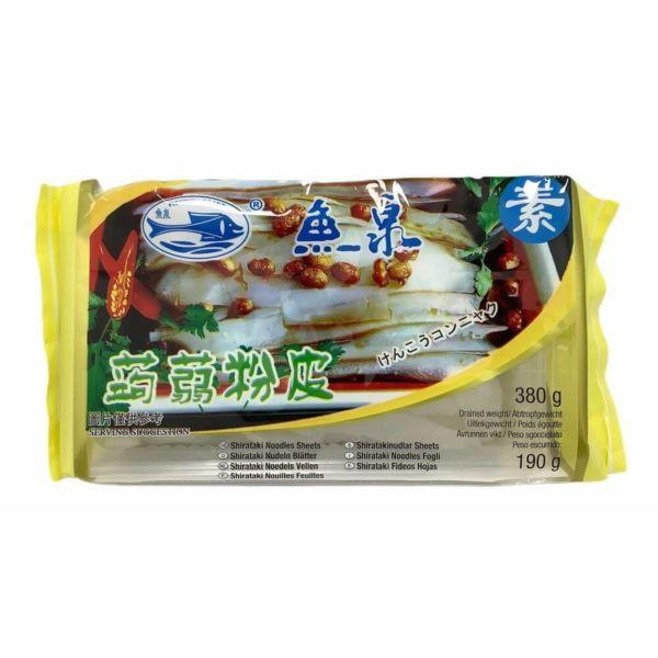 鱼泉魔芋粉皮 380g