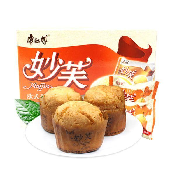 康师傅 妙芙欧洲蛋糕 (奶油味) 192g