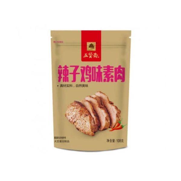 五贤斋辣子鸡素肉 108g