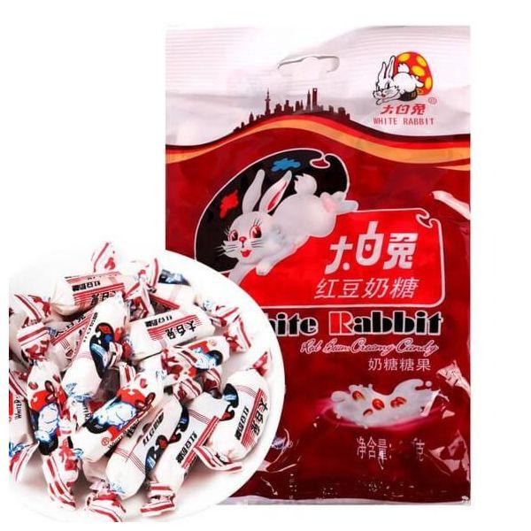 大白兔红豆奶糖 200g