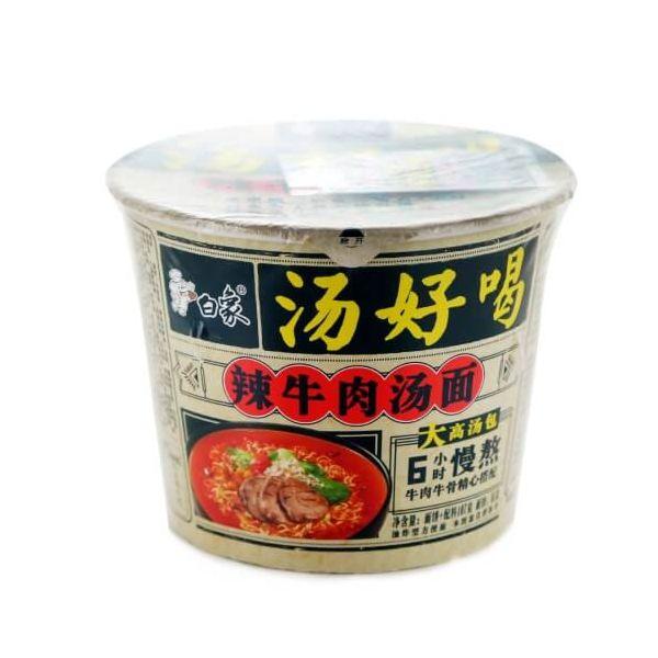 白象方便桶面 (辣牛肉汤) 107g