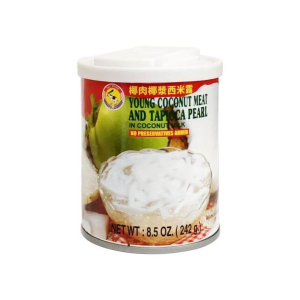 椰肉椰浆西米露 242g