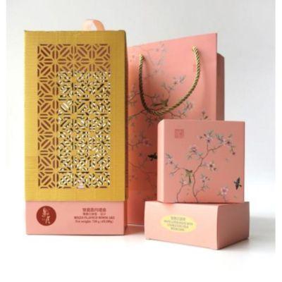 邀月雙星盈月月餅禮盒- 燈籠 (雙黃白蓮蓉/純正紅豆) (4x/720g)