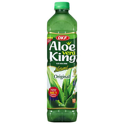 OKF 蘆薈飲料 1.5L - 原味