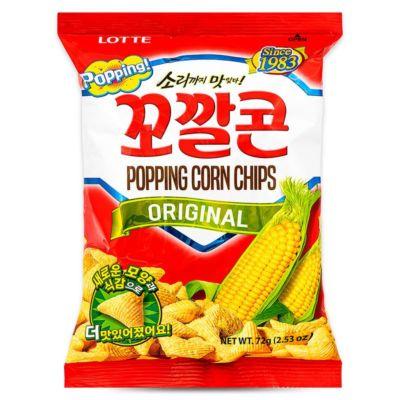 Lotte 玉米筒 72g