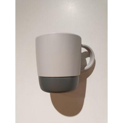 112*84*90 mm 简约灰色杯子