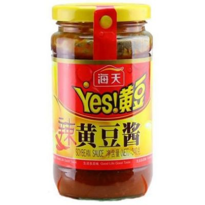 海天辣黄豆酱 340g