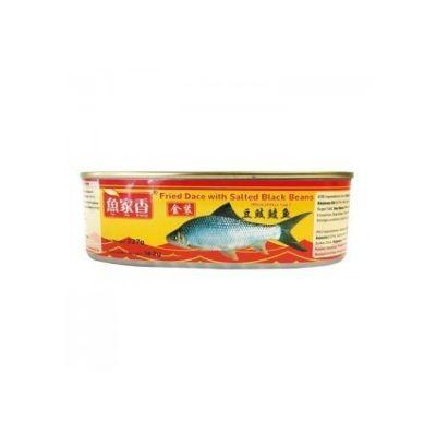 鱼家香豆豉鲮鱼 184g