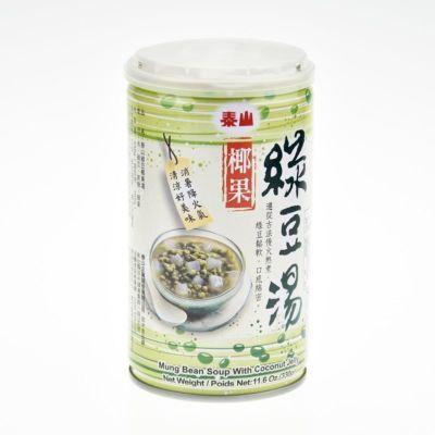 泰山 椰果綠豆湯 330g