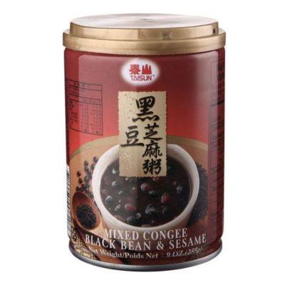 泰山 黑豆芝麻粥 255g