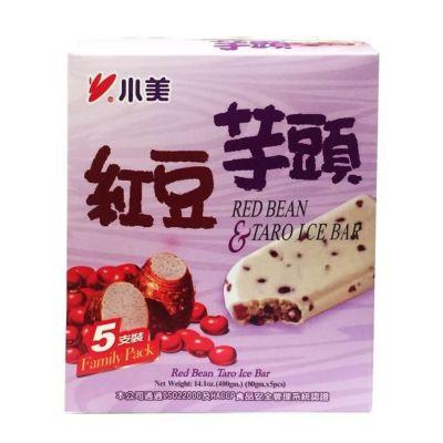 小美红豆芋头冰棒 5支/盒
