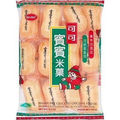 賓賓米果 原味米饼 150g