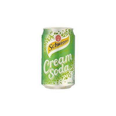 玉泉忌廉味汽水-罐