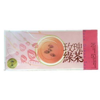 御茗玫瑰绿茶茶包