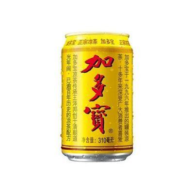 加多宝罐装凉茶