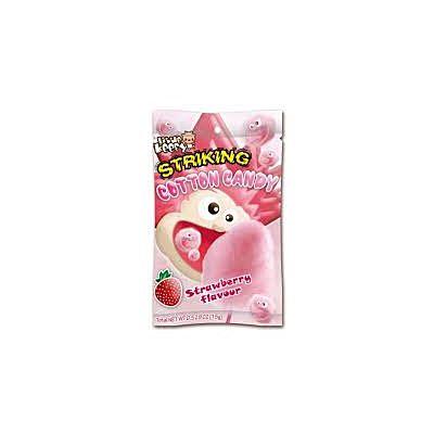 索劲草莓味棉花糖