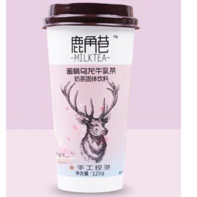 鹿角巷奶茶 - 蜜桃乌龙牛乳茶 123g