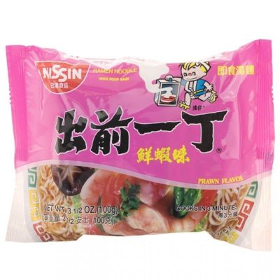 出前一丁-鲜虾味 (单包)100g
