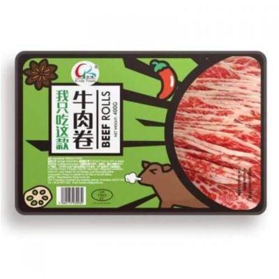 金达火锅牛肉(肥牛)卷 400g