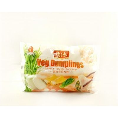 香源腐皮韭菜水饺