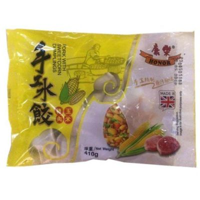 康乐水饺 猪肉玉米 410g