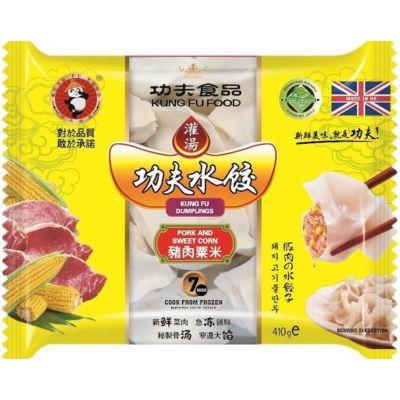 功夫水饺-猪肉玉米 400g