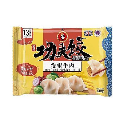 功夫水饺-泡椒牛肉 410g