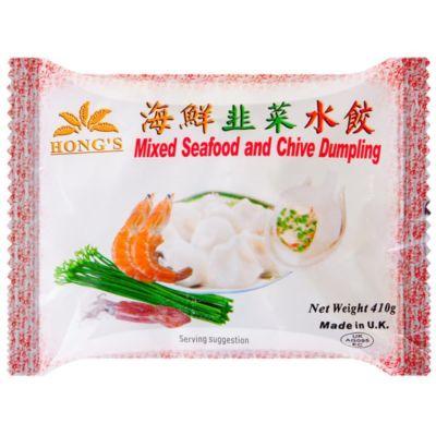 鸿字海鲜大葱水饺 410g