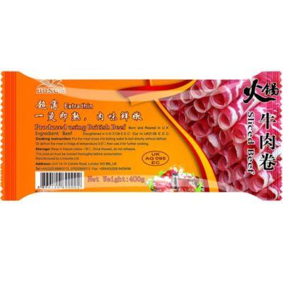 鸿字火锅牛肉(肥牛)卷 400g