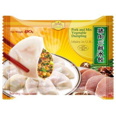 鸿字猪肉三鲜水饺 410g