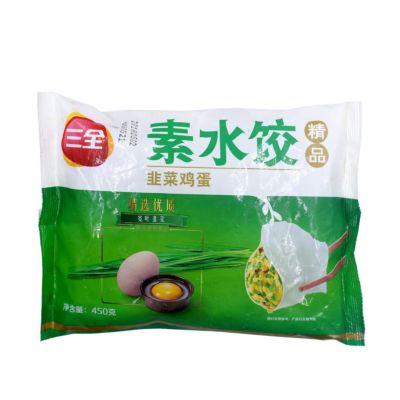 三全韭菜鸡蛋水饺
