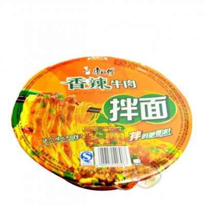 康师傅干拌面盒(香辣牛肉)127g