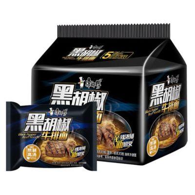 康师傅经典袋 5in1(黑胡椒铁板牛肉) 5x102g