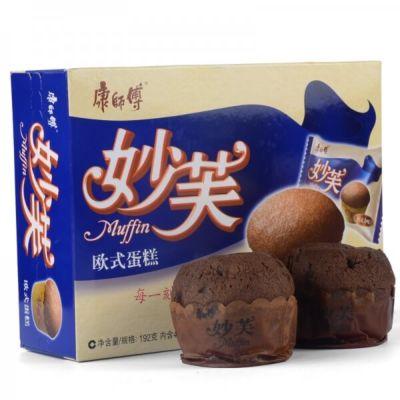 康师傅 妙芙欧洲蛋糕 (巧克力味) 192g
