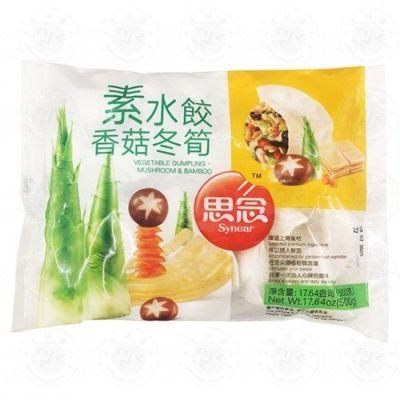 思念素水饺(香菇冬笋)